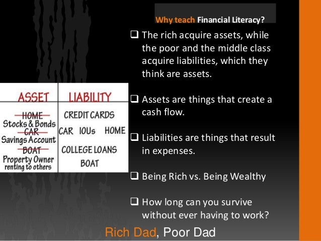 review of rich dad poor dad Ultimately, i found rich dad poor dad, & cashflow quadrants to be somewhat  beneficial, but i still  review by i will teach you to be rich.