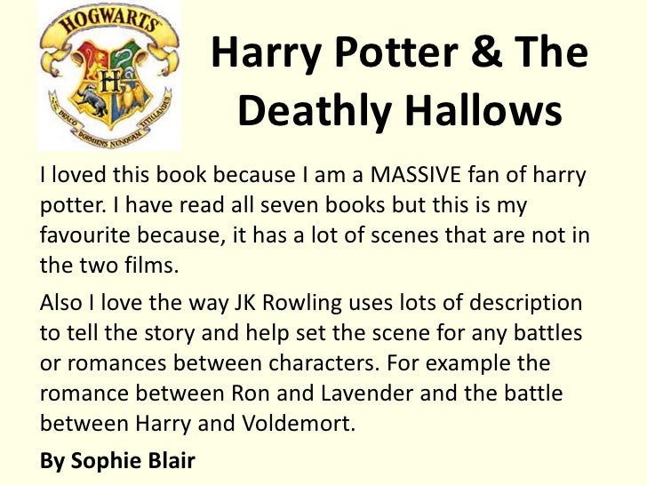 harry potter story book review