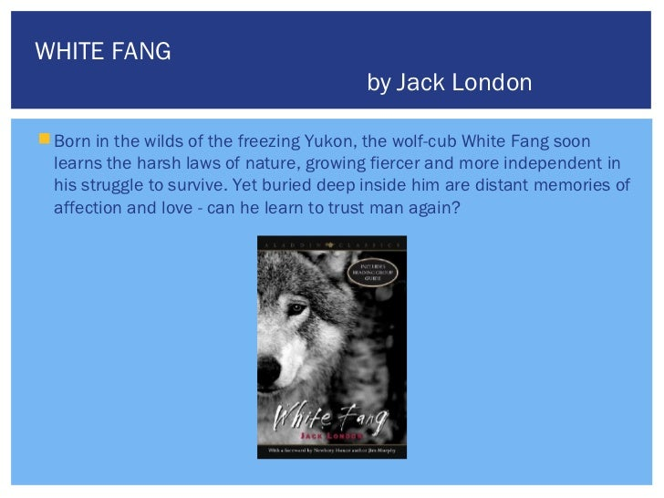 white fang book report summary Need help with part 1, chapter 3 in jack london's white fang check out our revolutionary side-by-side summary and analysis.