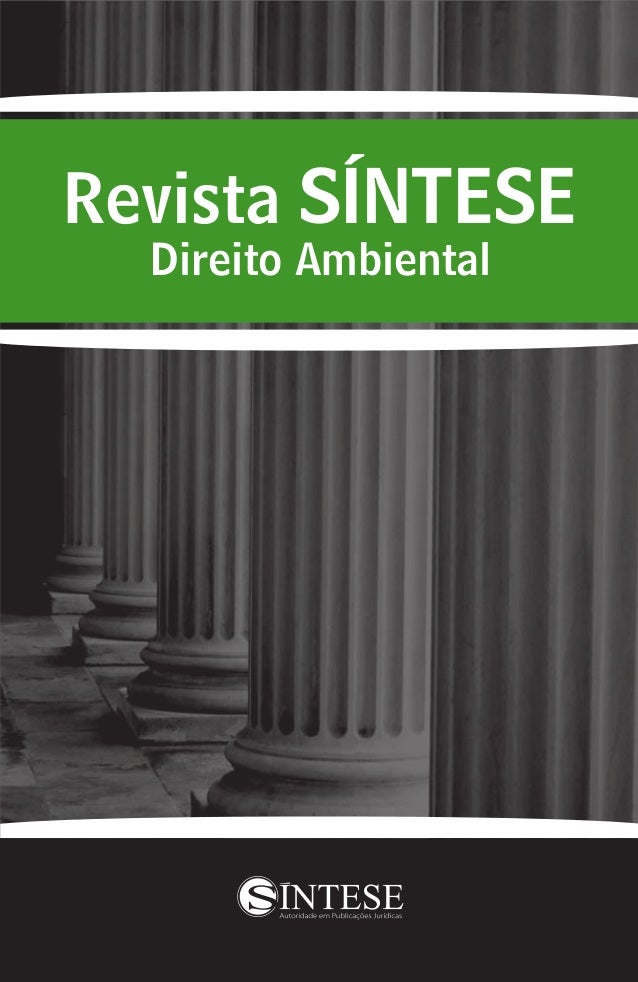 Revista SÍNTESE Direito Ambiental