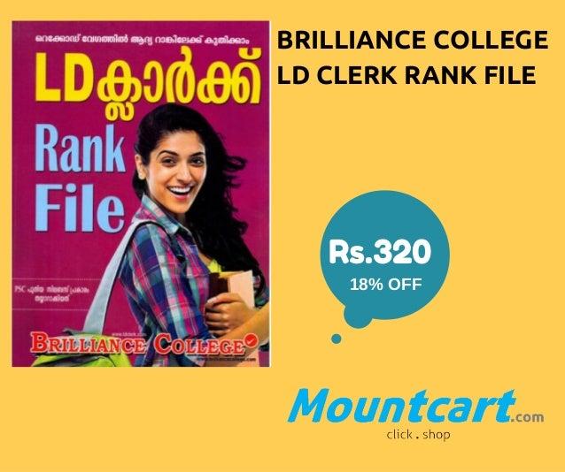 Best Books for Preparing Kerala PSC LD Clerk Exam Slide 3