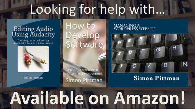 Looking for help with… Available on Amazon!
