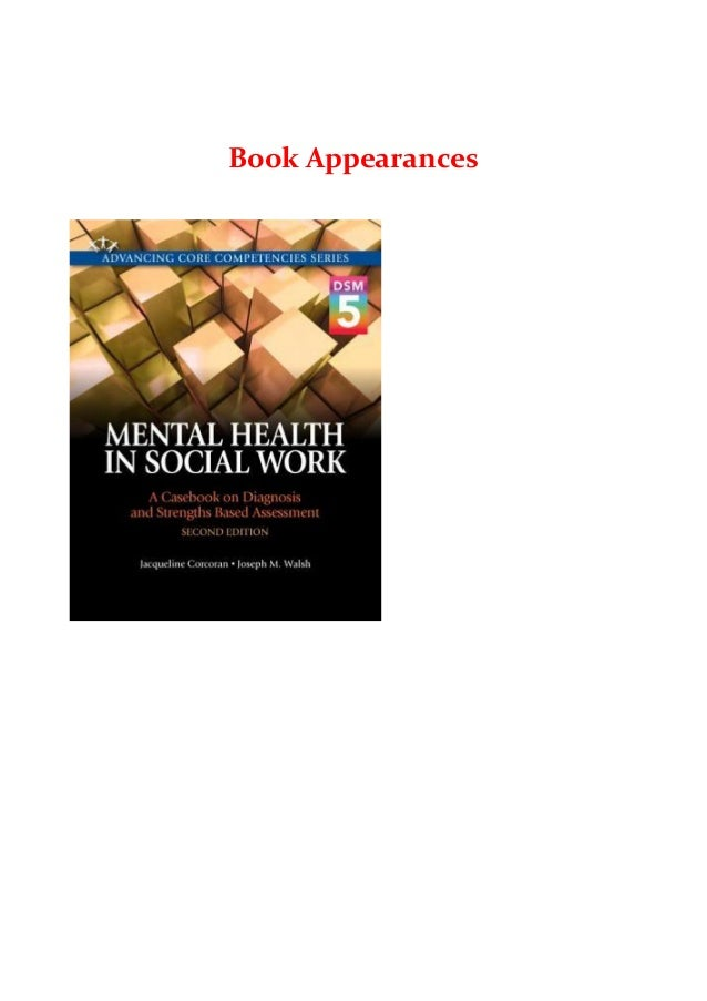 Books Mental Health In Social Work A Casebook On Diagnosis And Str