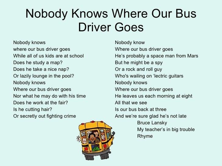 School Bus Driver Appreciation Sayings | just b.CAUSE