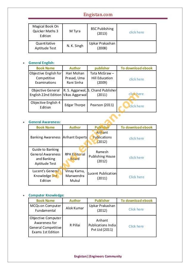 Engistan.com  Engistan  EngineersCommunity MagicalBookOn QuickerMaths3 Edition MTyra BSCPublishing (2013) ...