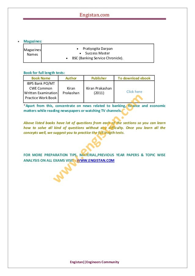 Engistan.com  Engistan  EngineersCommunity    Magazines: Magazines Names  PratiyogitaDarpan  SuccessMaster...