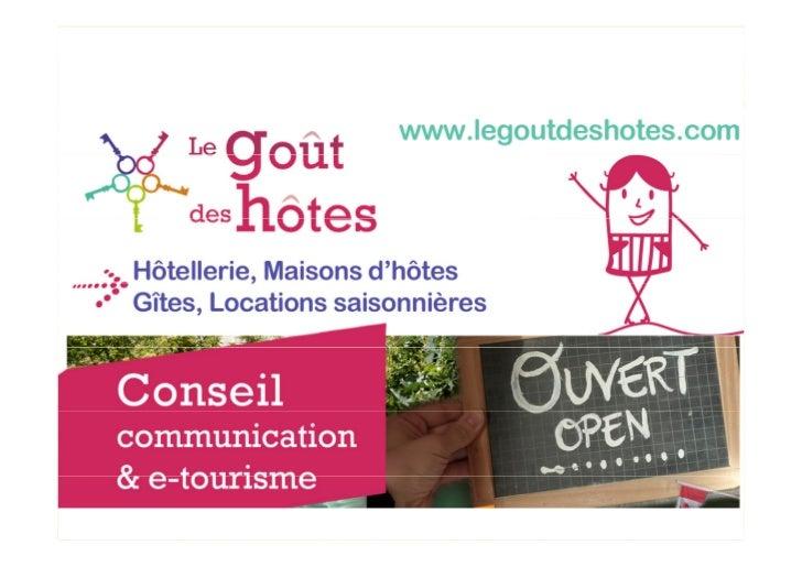 MAISONS D'HÔTES ET GITESExemples de Sites internet+ Logos, Brochures, Emailing, Pages Facebook                www.legoutde...