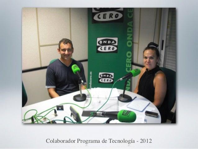 Colaborador Programa de Tecnología - 2012