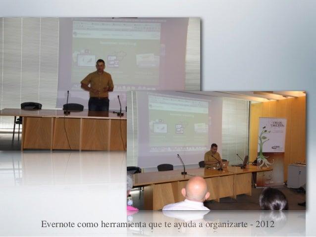 Evernote como herramienta que te ayuda a organizarte - 2012