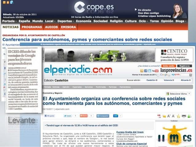 322 empresarios                  ConferenciaLinkedIn la nueva forma de hacer negocios - 2011