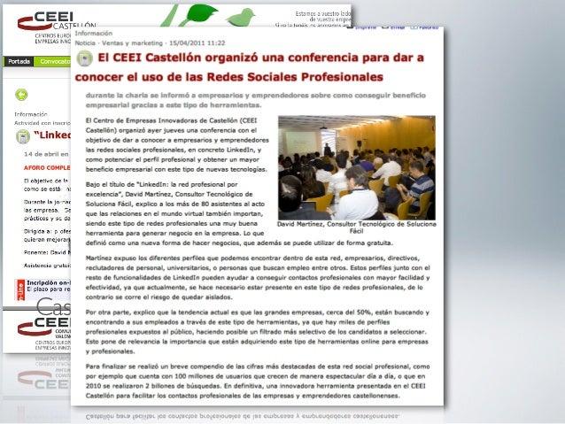 Conferencia     2011-AbrilCastellón de la Plana