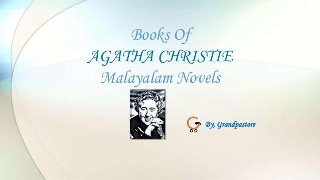 Books Of AGATHA CHRISTIE Malayalam Novels