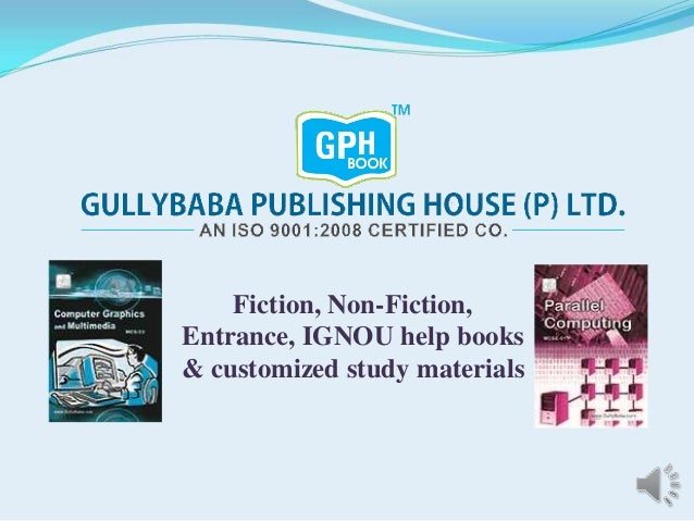 Fiction, Non-Fiction, Entrance, IGNOU help books & customized study materials