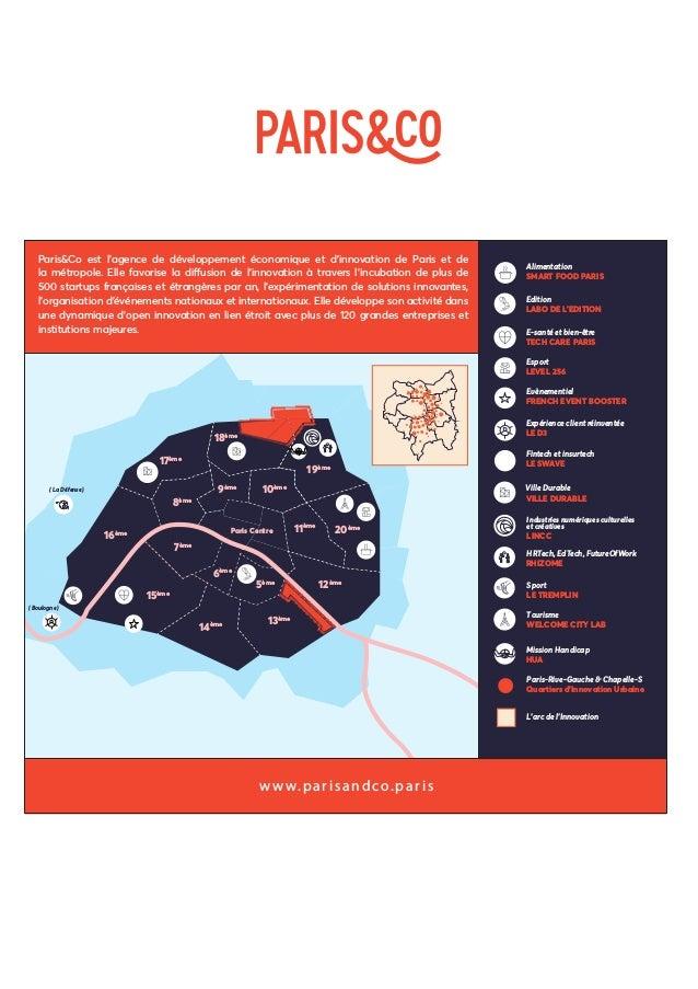L'UNIVERS DU DIVERTISSEMENT DE PARIS&CO, KESAKO ? 1 UNIVERS = 5 PLATEFORMES D'INNOVATION WELCOME CITY LAB LABO DE L'EDITIO...