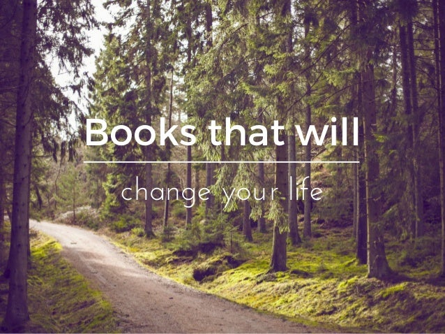 Books that will changeyourlife