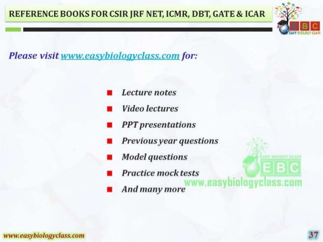"""REFERENCE BOOKS FOR CSIR IRF NET,  ICMR,  DB'I',  GATE & ICAR  is  Please Visit '-. :'. 'H»""""I. .T. :'.  eo. sf_'/ I2ioloay..."""