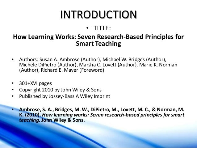 teaching smart people to learn summary Focus on the fostering of transformational learning regarding teaching practice  for summary or analysis of important sections of the workshop content  argyris, c (1991) teaching smart people how to learn, harvard business review.