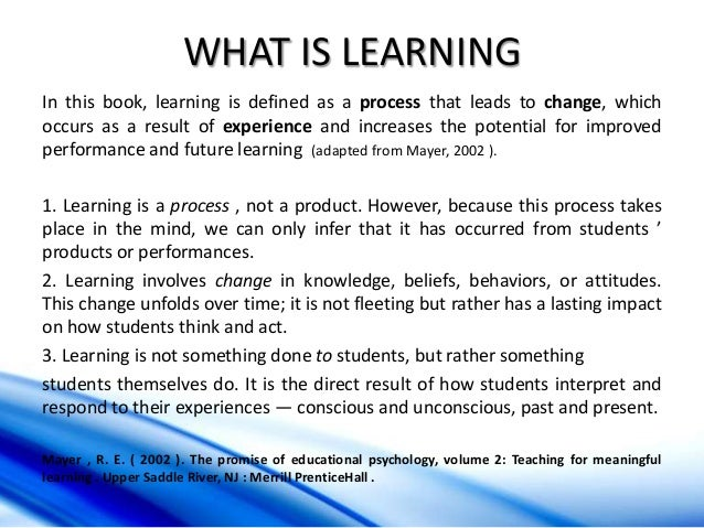 Teaching smart people to learn summary
