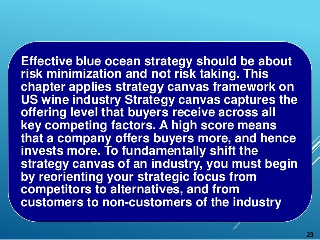 blue ocean strategy by w chan kim and mauborgne How to create uncontested market space and make the competition irrelevant by w chan kim and renee mauborgne (harvard business press, 2005)  (org systems) audience and purpose: this 2005 book is aimed at anyone interested in pursuing the authors' blue ocean strategy for achieving business success dr kim was.