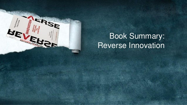 Book Summary:Reverse Innovation