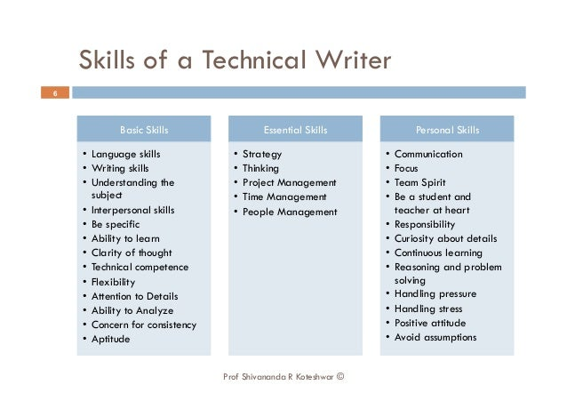Technical writing and basic statistics for business