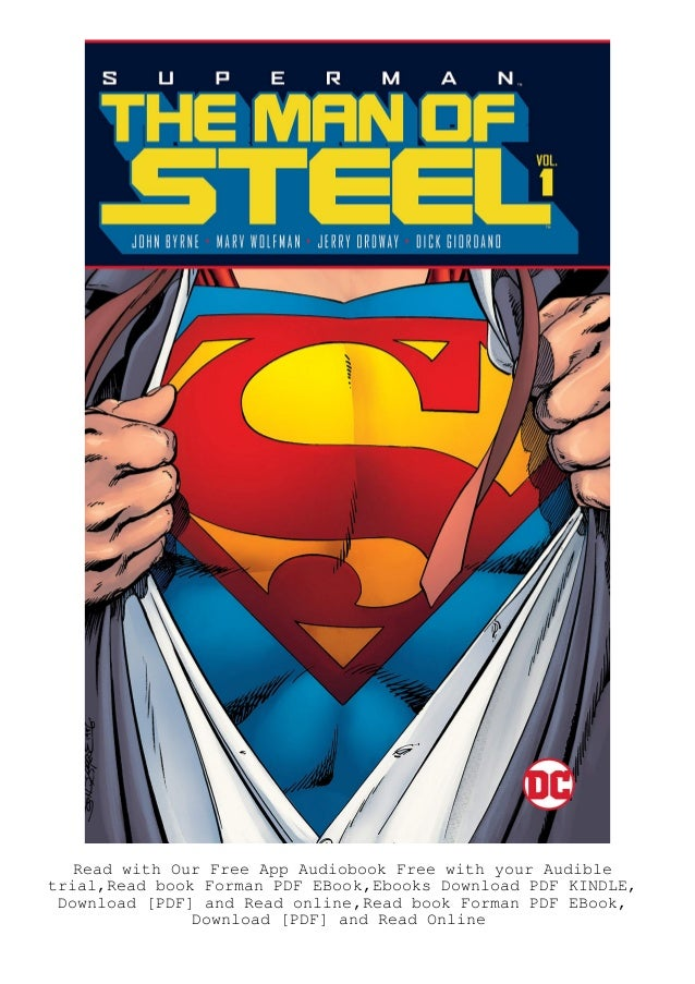 Book Superman The Man Of Steel Vol 1 Ebook Pdf