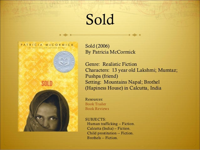 Characters In The Book Sold By Patricia Mccormick Free Wiring