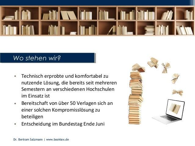 Nutzung digitaler Bildungsressourcen (1) – welche Möglichkeiten gibt es in LMS? (Slides: Dr. Bertram Salzmann)