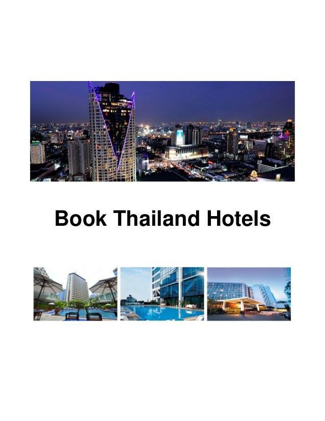 Book Thailand Hotels