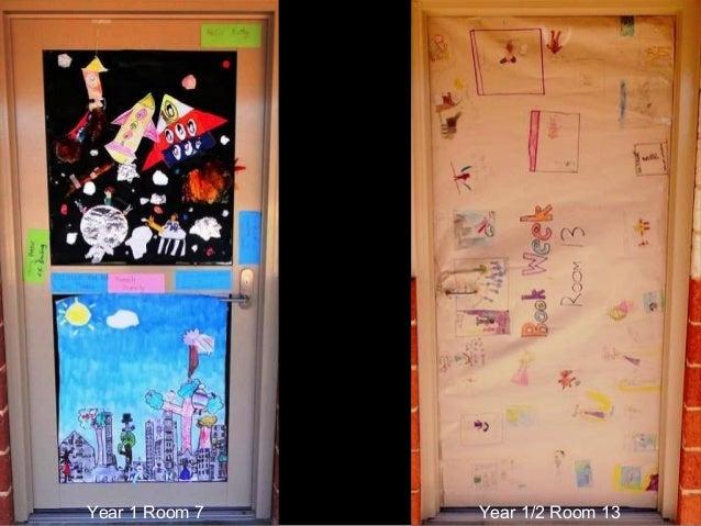 Bookweek Classroom Door Designs 2013