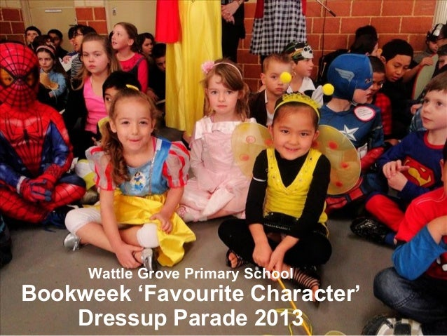 Wattle Grove Primary School Bookweek 'Favourite Character' Dressup Parade 2013