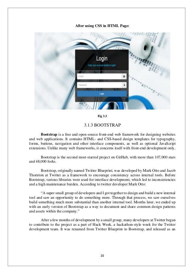 e-commerce web development project report (Bookz report)