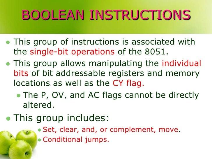 Boolean 8051