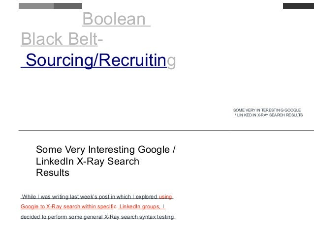 Google Resume Search