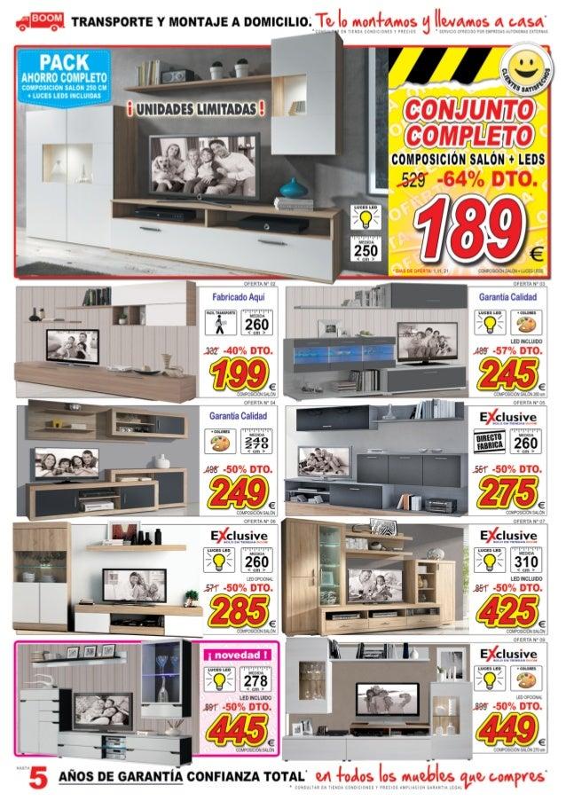 Catálogo De Ofertas En Muebles ¡Tú Si Que Sabes Ahorrar! | Muebles BOOM