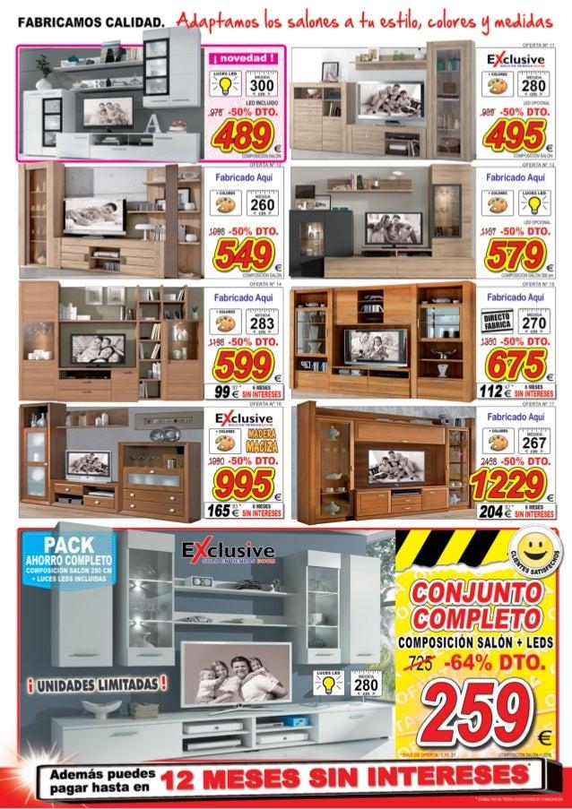 Superior Catálogo De Ofertas En Muebles ¡Tú Si Que Sabes Ahorrar! | Muebles BOOM