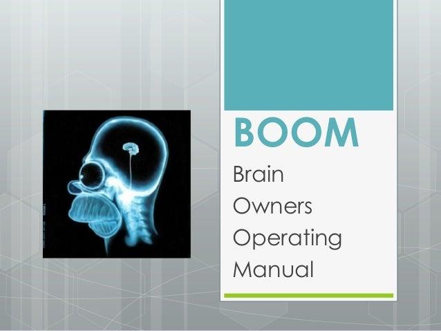 BOOM Brain Owners Operating Manual