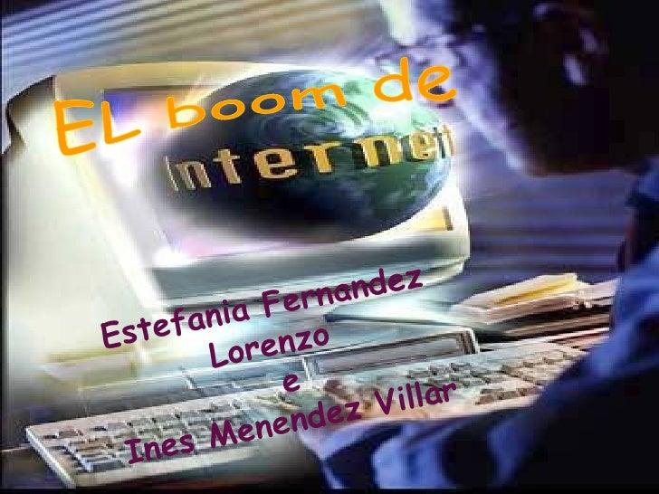 EL boom de  Estefania Fernandez Lorenzo   e  Ines Menendez Villar