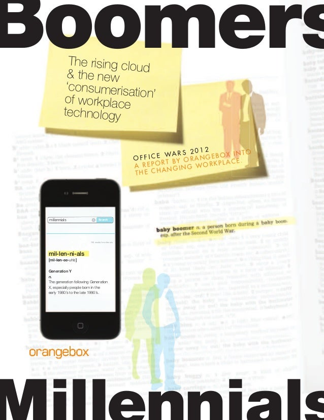 The rising cloud& the new 'consumerisation'of workplace technology O F F I C E WA R S 2 0 1 2 A REPORT BY ORANGEBOX INTO T...