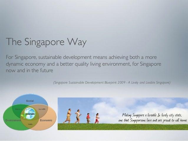 Do you think that the lifestyle of inhabitants of singapore reflects 6 the singapore way for singapore sustainable development malvernweather Choice Image
