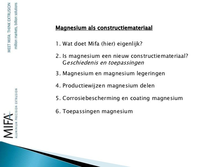 magnesium wat doet het