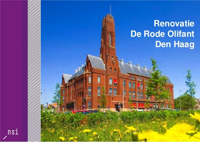 Renovatie De Rode Olifant Den Haag