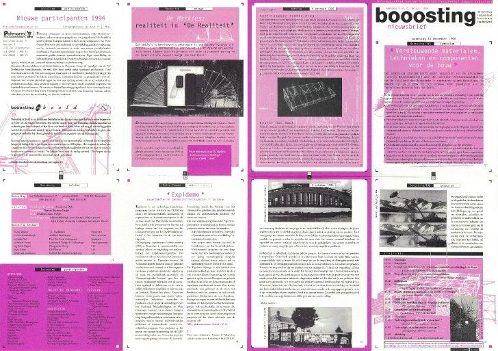Informatieblad van de Stichting Industrieel Bouwen Nederland      b'ö öostin ~nieuwsbrief                                 ...