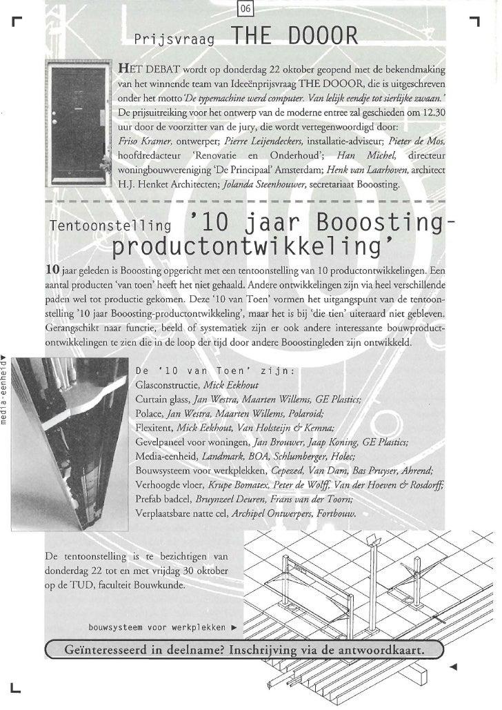 Booosting Nieuwsbrief 47 Sep 1998