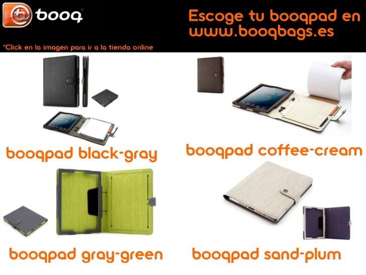 Booqbag diseño elegante para mochilas, fundas y bandoleras