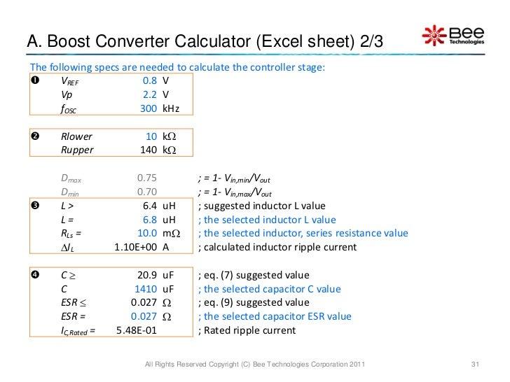concept kit pwm boost converter average model
