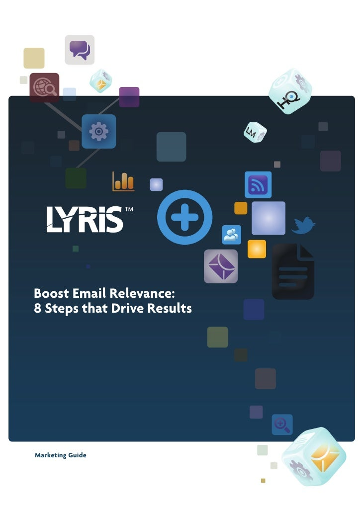 Boost Email Relevance:8 Steps that Drive ResultsMarketing Guide