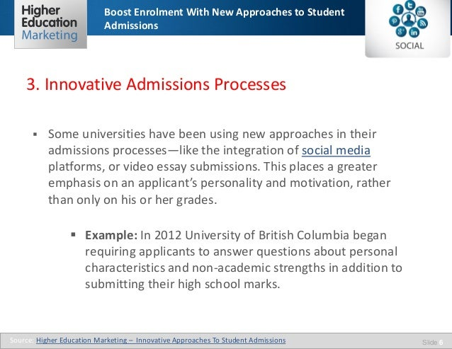 University of british columbia essay questions