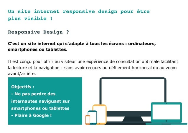 Un site internet responsive design pour être plus visible ! Responsive Design ? C'est un site internet qui s'adapte à tous...