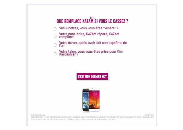 Exemples d'applications de jeu : - Quizz - Instant Gagnant - Concours Photo - Tirage au sort - Jeu de grattage Jeux Concou...